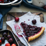 Sweet and Tart Cherry Pie with Flaky Homemade Crust