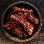 Sticky Pork Ribs. Highlight of the BBQ.