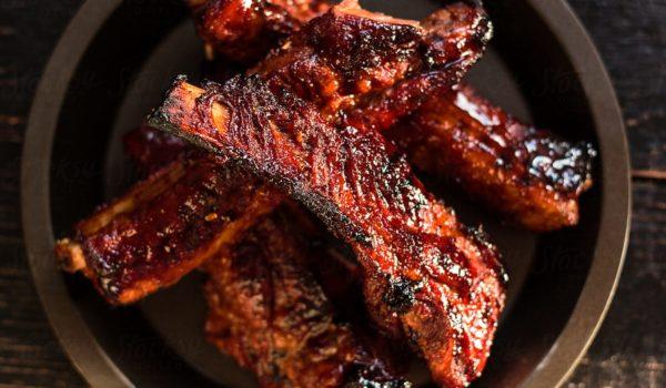 Sticky Pork Ribs. Highlight of the BBQ.